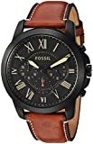 Best Fossil Watches For Men - Fossil Chronograph Black Dial Men's Watch - FS5241 Review
