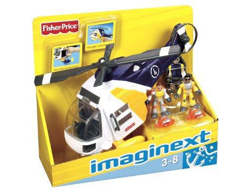 Imaginext N1396 - Supervehículos De Rescate (Mattel)
