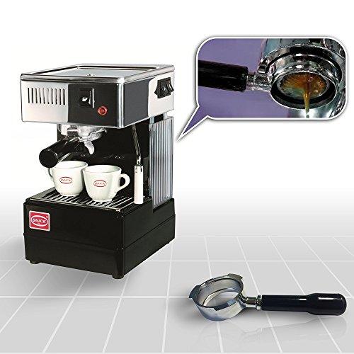 Quick Mill 0820 Schwarz Espressomaschine Made in Italy ,Siebträger Espressomaschine Special Special...