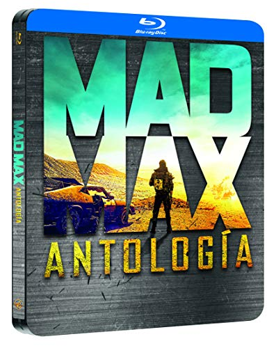 Pack Mad Max 1-4 Black Metal Edition Blu-Ray [Blu-ray]