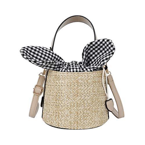 OIKAY Mode Damen Tasche Handtasche Schultertasche Umhängetasche Mode Neue Handtasche Frauen Umhängetasche Schultertasche Strand Elegant Tasche Mädchen 0605@057