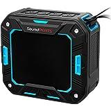 SoundPEATS Altavoz Bluetooth Portátil Impermeable, 5W de Potencia, Batería de 2000 mAh , Aporta Manos Libres para Ducha y Exterior, 10 Horas Larga Duración de La Batería--P2 (Azul)