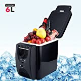 WANGYONGQI 12V 45W 6L Mini Kühlschrank 2 in 1 freistehend weniger Lärm Auto Kühlschrank tragbare Heizung für Autos Car House Camping