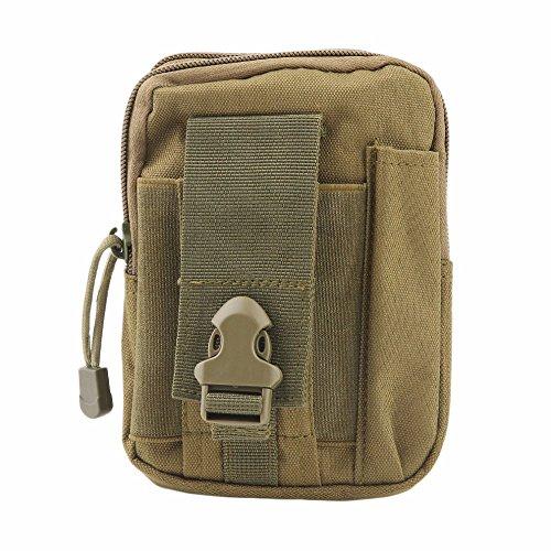 225deaea56a8f YUDODO Herren Gürteltasche Molle Pouch Taktische Hüfttaschen Sport Outdoor  Survival Tasche Armeegrün