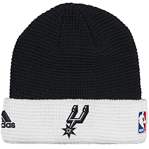 San Antonio Spurs Adidas NBA 2015 Authentic Team Cuffed Knit Hat