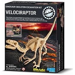 4M - Dinosaurio Piedra - Velociraptor