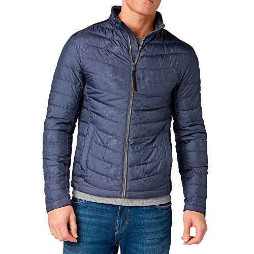 TOM TAILOR Herren Steppjacke Marine (52) XL
