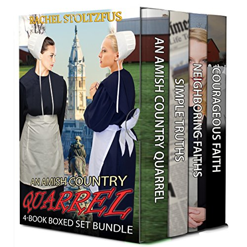 An Amish Country Quarrel 4 Book Boxed Set Bundle Lancaster County Amish Quarrel Series Living Amish 5