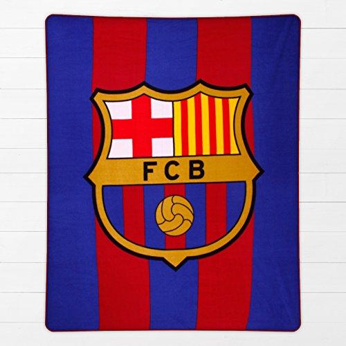 Barcelona F.C. – Manta de forro polar, diseño de club de fútbol Barcelona