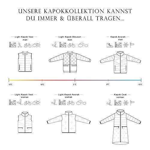 THOKKTHOKK Damen Weste und Anorak Kapok Schwarz 2er Pack, Größe:XL - 6