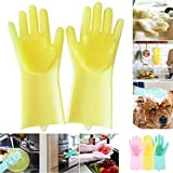 HaRvic Rubber Hand Gloves for Dish-Washing Cleaning Gardening Bathroom Cleaning Pack of 1