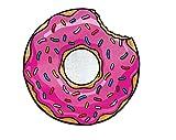 Big Mouth Donut Telo Mare, Microfibra, Multicolore, 152 x 152 x 1 cm