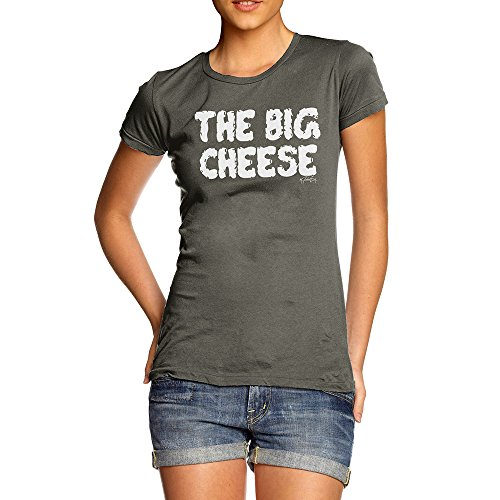 TWISTED ENVY Womens Novelty T Shirt The Big Cheese
