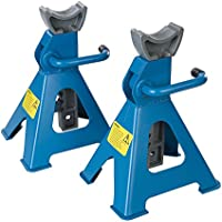 Silverline 763620 3 Tonne Axle Stands - Set of 2