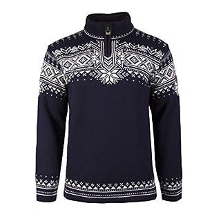 Dale of Norway Men's Anniversary Sweater, Blue, Medium