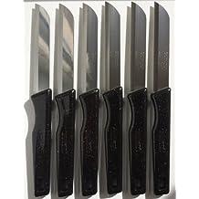 Solingen (Negro)/Fabricado en Alemania/verduras cuchillo de fruta cuchillo para pelar