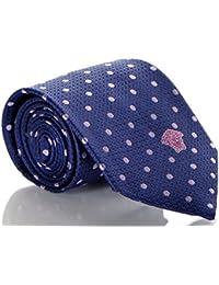 Versace Men's Polka Dot Woven Silk Necktie