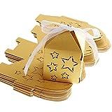 LEORX Geschenk Süßigkeiten Geschenkboxen Hochzeit Süßigkeiten Geschenke Pralinen–50Teile