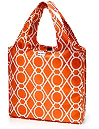 Clementine : RuMe Medium Shopping Tote Reusable Grocery Bag (Clementine)