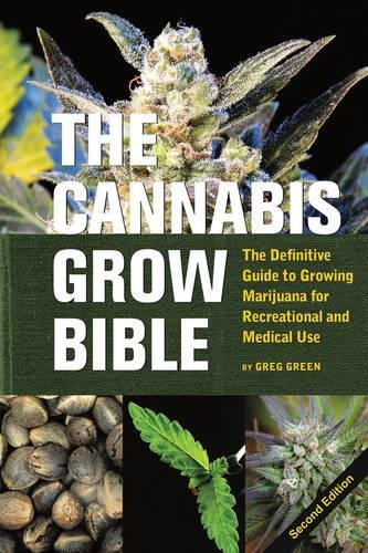 The Cannabis Grow Bible Cover Image