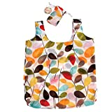 Reusable Foldaway Foldable Shopping Bag - Choice of Design (Vintage Ivy)