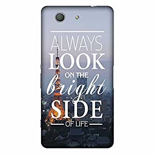 Mobo Monkey Designer Printed Back Case Cover for Sony Xperia Z3 :: Sony Xperia Z3 Dual D6603 :: Sony Xperia Z3 D6633 (Text :: Inspirational :: Usa :: Motivational :: Typography)