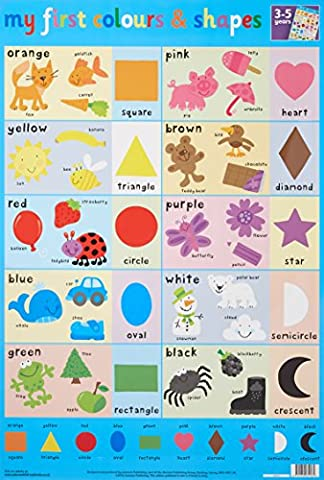 Colours and Shapes Wall Chart (Wall