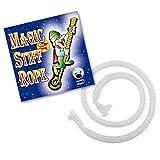 Stiff Rope Zaubertrick, Indischer Seiltrick für Zauberkasten ab 14 Jahren, Seil starr Zaubern, Zauber Seil, Zauberer Seil, Professionelle Zaubertricks und Zauberartikel