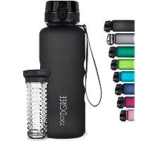 """720°DGREE Trinkflasche """"uberBottle"""" softTouch +Früchtebehälter - 1,5L - BPA-Frei - Wasserflasche für Sport, Fitness…"""
