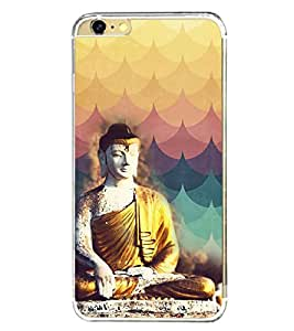 PrintVisa Designer Back Case Cover for Apple iPhone 6 (Statue of Buddha )
