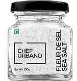 #10: Chef Urbano Fleur De Sel Sea Salt-150 Gram