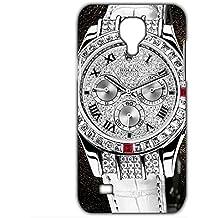 Estilo CALIENTE Ralph Lauren deportivos reloj personalizado plástico delgado personnalisée 3D funda L6M057 para Samsung Galaxy S4 mini_3D, compatible con Samsung Galaxy  S4 Mini, color multicolor