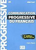 Communication progressive du français - Niveau débutant - Livre + CD - 2ème édition - Nouvelle couverture