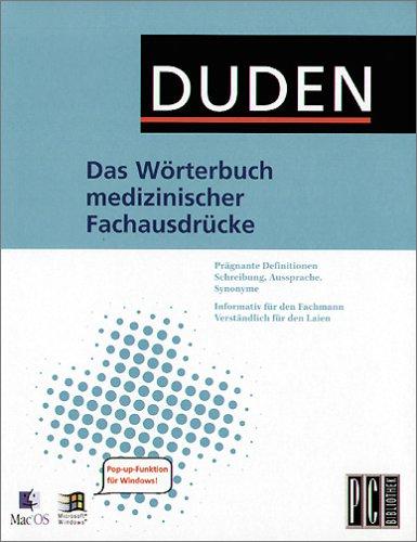 Das Wörterbuch medizin. Fachausdrücke