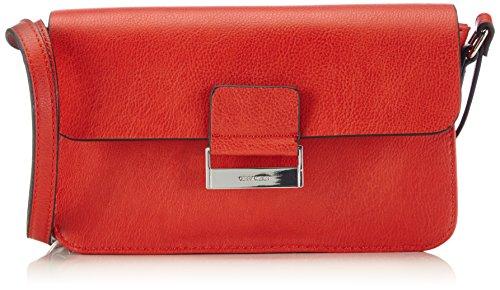 Gerry Weber Damen TD Flap Bag Umhängetaschen, Rot (light red 301), 24x13x5 cm