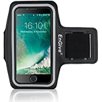 iPhone 7Plus Pulsera [Home Button & Touch ID Compatible], EnGive Sport móvil parpadeantes de Pulsera Carcasa Case y Soporte para Llaves Conector para Auriculares para iPhone 7Plus