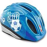 Puky 9524 PH 1-S/M Fahrradhelm, Blau Fußball