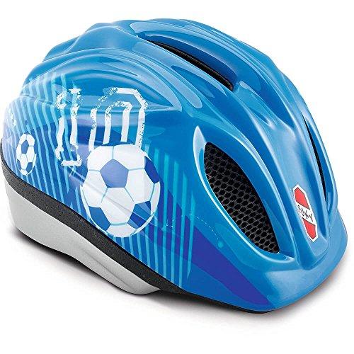 Puky 9524 PH 1-S/M Fahrradhelm, Blau Fu&szligball