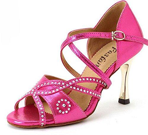 da scarpe per Galvanizzato KUKI da ballo ballo con GB adulti scarpe scarpe da latino 1 ballo femminile nwtqC