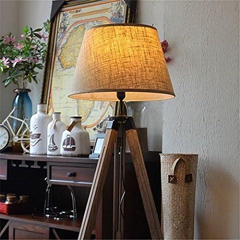 nauticalmart Marien Designer Royal Nautisches Stativ Stehlampe Moderner Teak Holz