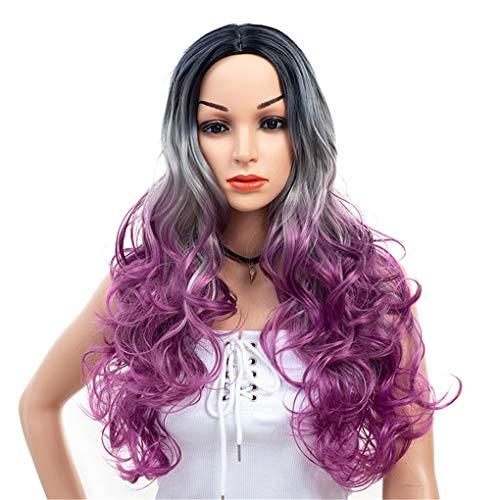 Lange Körperwelle-volle Haar-Perücken synthetische Perücke für Frauen-Kostüm - Halloween-Perücken für ()