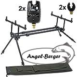 Angel-Berger Luxus Rod Pod verschiedene Modelle mit Tasche (Luxus Rod Pod mit Zubehör)