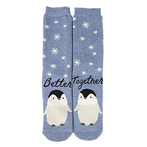 Christmas Gift Socks, Gmark Unisex Novelty Winter Cartoon Cotton Socks 1-6 Pairs