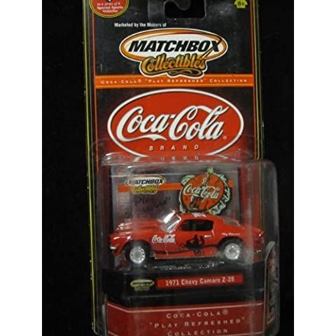 1971 Chevy Camaro Z-28 Coca-Cola Collectible By Matchbox Play Refreshed Collection by Coca-Cola -