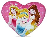 Disney Prinzessinnen Kissen in Herzform Prinzessin Kuschelkissen Plüschkissen Disney Princess Cushion