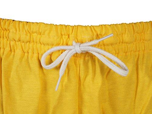 Panzeri Unito ha giallo Shorts jersey-Pantaloncini per tutti gli sport - giallo