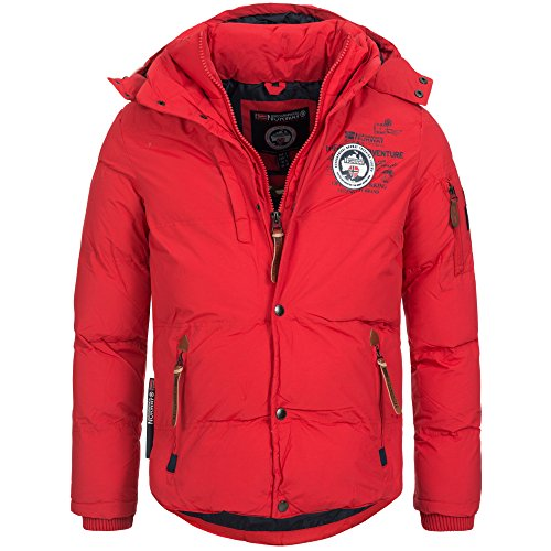 Geographical Norway VENISE Herren Winterjacke Jacke Outdoor warm gefüttert Gr. S-XXXL