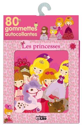 Ma boite à gommettes - les princesses - De 3 à 5 ans