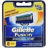 Gillette Fusion ProGlide Rasierklingen für Männer, 8Stück