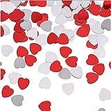 P Prettyia 30g Herzen Konfetti Streudeko Streuartikel Tischdeko für Hochzeit Valentinstag und Jubiläum - 4